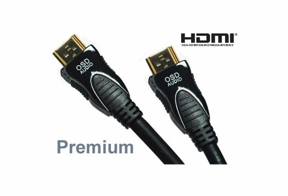 6ft Premium High Speed HDMI® Cable with Ethernet - 5 Pack