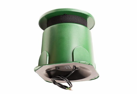"""8"""" Omni 360-Degree Outdoor 250W Subwoofer with Built-In Crossover, Green - OMSUB200"""