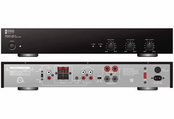 AMP150 180W Dual Source, Two-Channel High Definition Amplifier