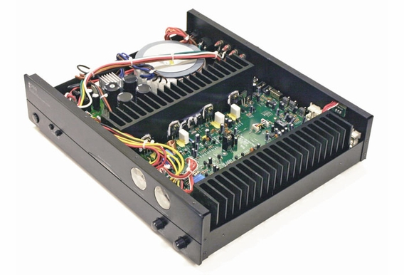 AMP200 High Current 2x Channel 125W Each Channel,  Class A/B Toroidal Transformers Amplifer,  2, 4 -8Ω ETL and CE Certified