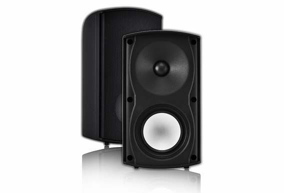 "AP490 4"" Outdoor Weather Resistant Stereo Patio Speaker Pair - B Stock"
