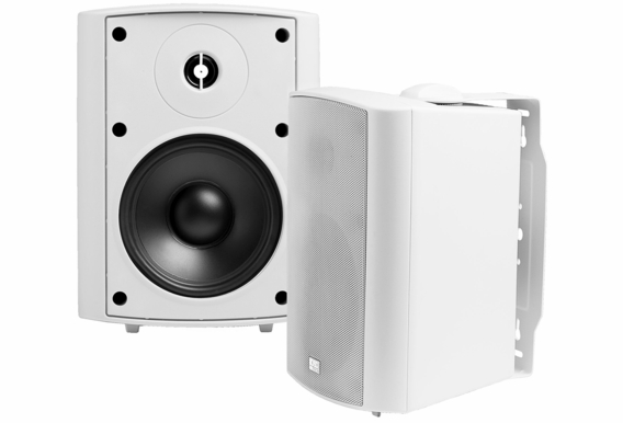 "AP520 High Performance Outdoor Patio Speaker 5.25"" Pair White Black 2-Way 70V Optional"