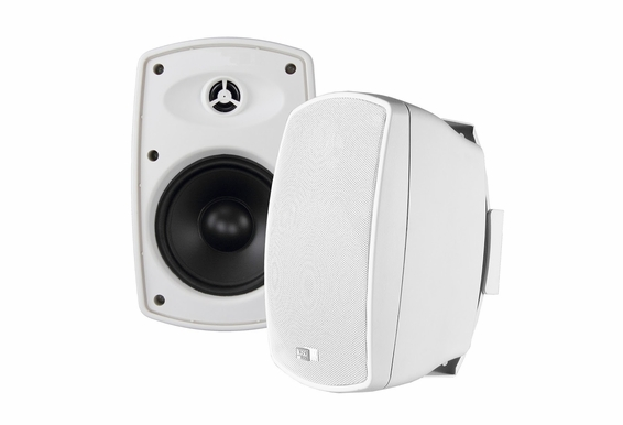 "AP525 Outdoor Patio Speaker High Definition 5.25"" Pair Composite Resin Low Resonator Cabinet 70V Optional"