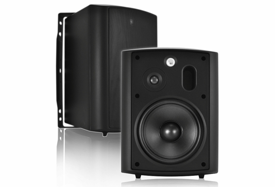 """AP640 Outdoor High Performance Patio Speaker 6.5"""" 2-Way (Pair, Black or White) 70V Optional"""