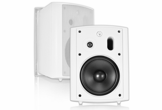 "AP640 Outdoor High Performance Patio Speaker 6.5"" 2-Way (Pair, Black or White) 70V Optional"