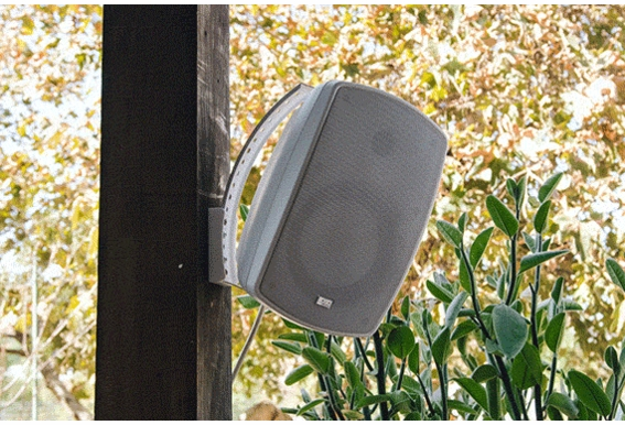 """AP650 High Definition Outdoor Patio Speaker 6.5"""" Pair Composite Resin Low Resonator Cabinet 2-Way 70V Optional"""