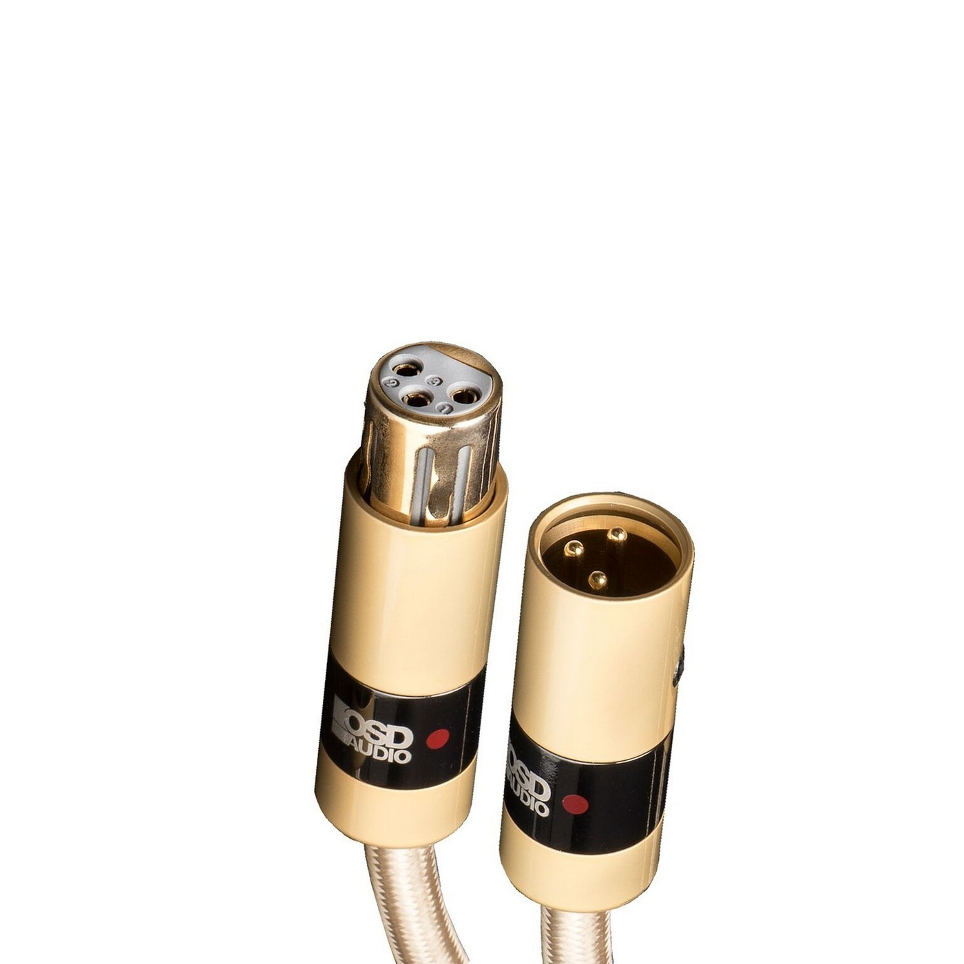 Aurum Series Ultra High Performance Premium Balanced Xlr Cables For Cable Wiring Guide End Audio Home Theater Systems Pure Copper Connectors And Heavy Duty Shield