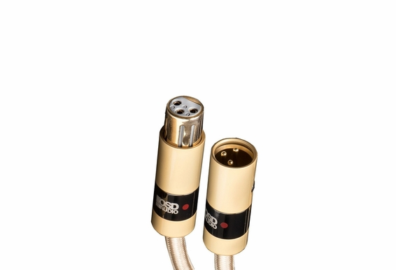 Aurum Series Ultra High-Performance, Premium Balanced XLR Cables for High-end Audio/Home Theater Systems, Pure Copper Connectors and Heavy-duty Shield -  XLR Male to XLR Female [3.2FT - 32.8FT]