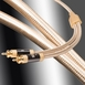 Aurum Series Ultra High-Performance, Unbalanced RCA Stereo Cable Pair, 100% Shielded Low (Signal) Level for Left/Right Output [3.2FT - 16.4FT]
