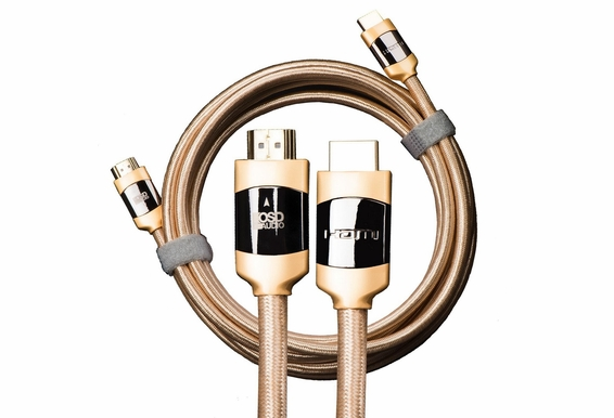 Aurum Series Ultra-High-Speed Active HDMI Audio/Video Cable for Long-distance Signal Transfer, Supports 4K, 3D and ARC, CL3/FT4 Rated [49.2ft or 65.6 ft]