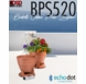 BPS520 Bluetooth® Outdoor Planter Speaker Built-In Water Drainage Waterproof Power Supply (Pair)