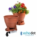 BPS520 Bluetooth Outdoor Planter Speaker Built-In Water Drainage Waterproof Power Supply (Pair)