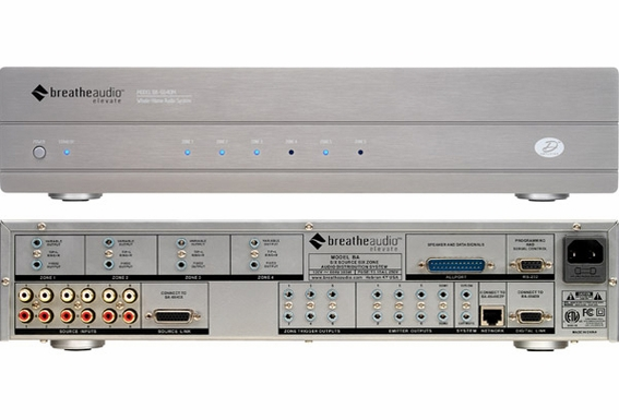 Breathe Audio BA-6640XS 6 Source 6 Zone Expander System