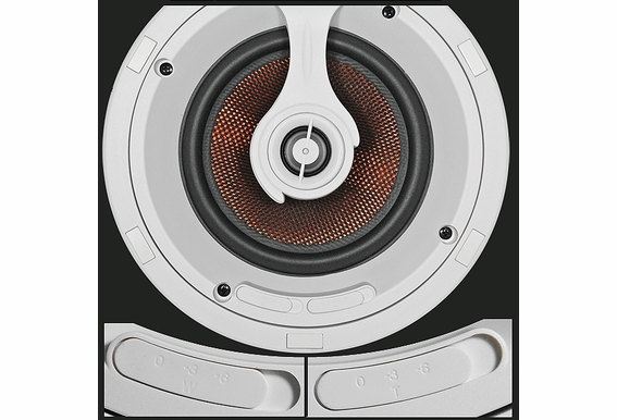 "Ceiling Speakers 7"" Trimless Thin Bezel OSD Audio ACE750"