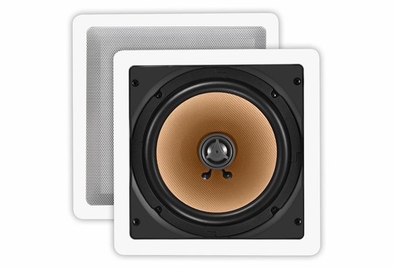 Ceiling Wall Speaker Pair CW-840SQ Square Design
