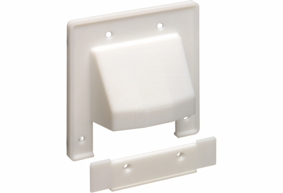 Dual Reversible Cable Entrance Plates with Removeable Front Plate