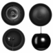 """Hanging Pendant Speaker 6.5"""" 2-Way Safety Hanging Wire 70V Built In OSD Audio PC640"""