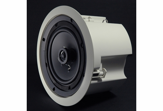"""ICE620ST 2-Way 6.5"""" Ceiling Speaker 70V with Backcan Single White"""