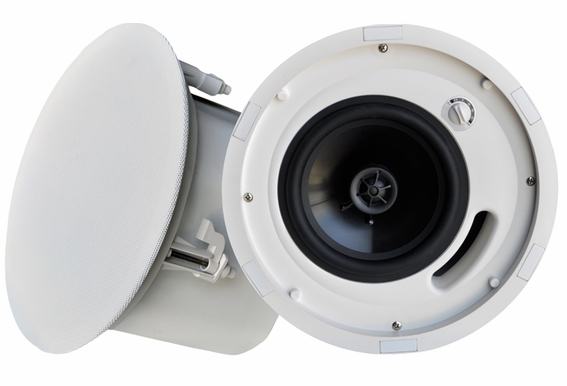 """ICE640ST 6.5"""" Trimless Ceiling Speaker With Backcan"""