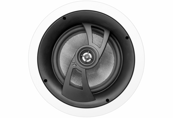 "ICE870 Angled LCR In-Ceiling Speaker with 8"" Carbon Fiber Woofer, Dolby Atmos Ready (Single)"