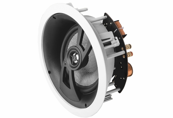 "ICE870 Angled LCR In-Ceiling Speaker with 8"" Carbon Fiber Woofer, Dolby Atmos Ready x3"