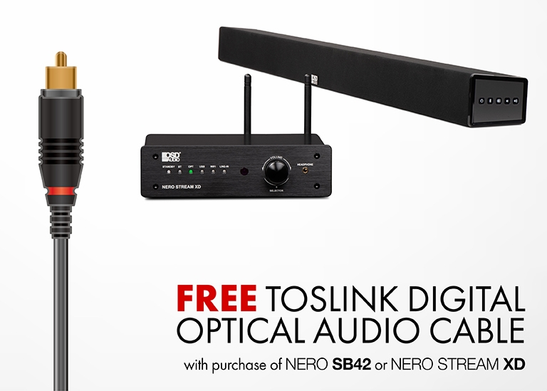 FREE Toslink Digital Optical Audio Cable4