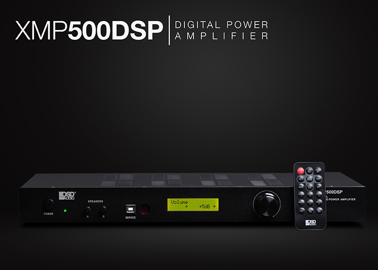 XMP500DSP Stereo Amplifier 2