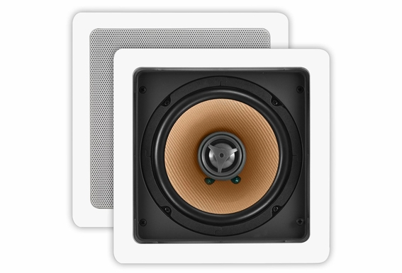 In Wall Speaker CW640SQ Square Pair