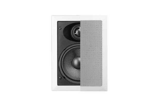 "In Wall Speakers IW540 5.25"" 100W Pair OSD Audio"