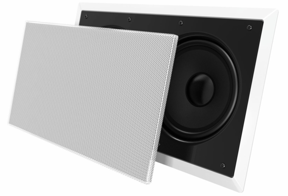 "In Wall Subwoofer OSD IWS88 Dual 8"" Injected Woofers Back Bridge Plate (2018 New Design)"