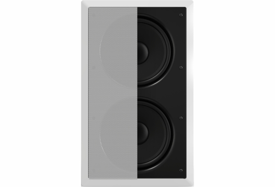 """In Wall Subwoofer OSD IWS88 Dual 8"""" Injected Woofers Back Bridge Plate (2018 New Design)"""