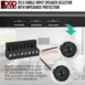 ISS6 6x Pair High Power Speaker Selector with Speaker Impedance Protection