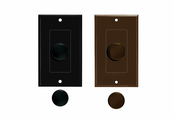 Knob Volume Control Color Change Kit (White, Black or Brown) for SVC Volume Controls