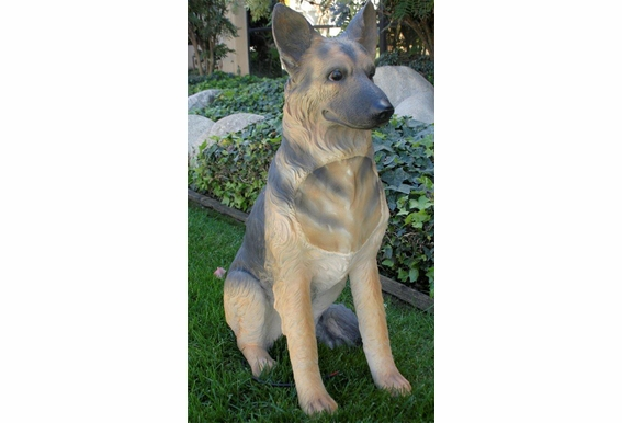 Life Size Dog Outdoor Speaker