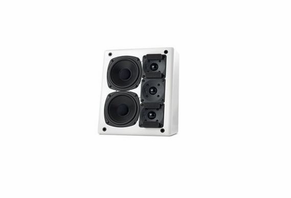 M&K Sound® MP150II THX Ultra2 Certified Left Channel On-Wall Loudspeaker, Single - White