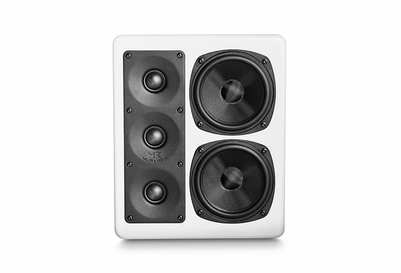 M&K Sound® MP150II THX Ultra2 Certified Right or Center Channel On-Wall Loudspeaker, Single - White