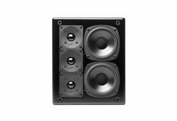 M&K Sound® MPS2510P Active Studio Monitor Right or Center Channel, Single - Black