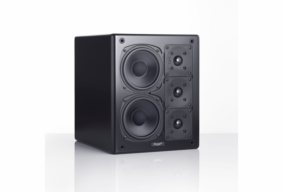 M&K Sound® S150II THX Ultra2 Certified Right or Center Channel Monitor,  Single - Black