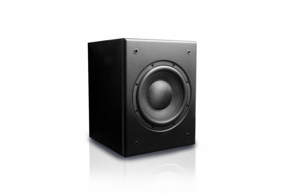 "MK Sound V8 MOVIE - Ultra Compact 8"" powered subwoofer"