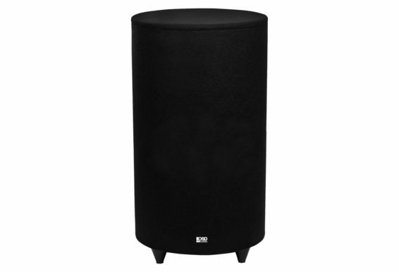 """Nero TubeBass10 10"""" Ported Cylinder Cabinetry Home Theater 400W Class D Subwoofer"""