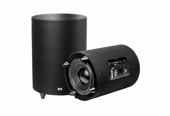 """NERO-TUBEBASS10 400-Watt Down-Firing 10"""" Cylinder Subwoofer For Gaming And Home Theater Systems - NERO-TUBEBASS 10"""