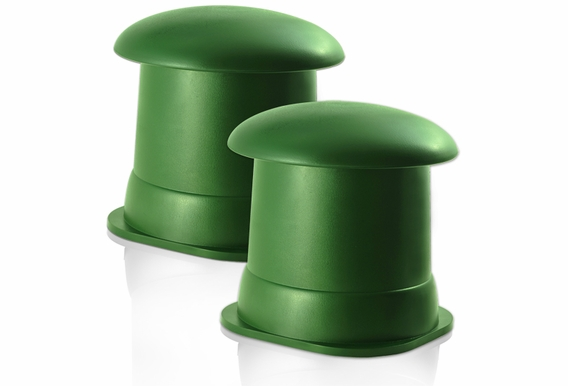 """OS525 Back Ground Music 5.25"""" Omni Speakers (Green Pair)"""