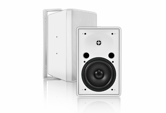 "OSD AP850 8"" 2-Way Outdoor Patio Speaker Pair High Definition 70V - White"