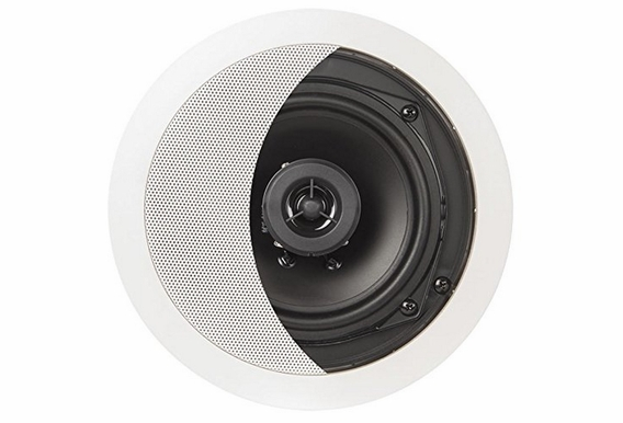 "OSD Audio ICE520 5.25"" In-Ceiling Speaker 100W w/ Pivoting Tweeter - 5 Pack"