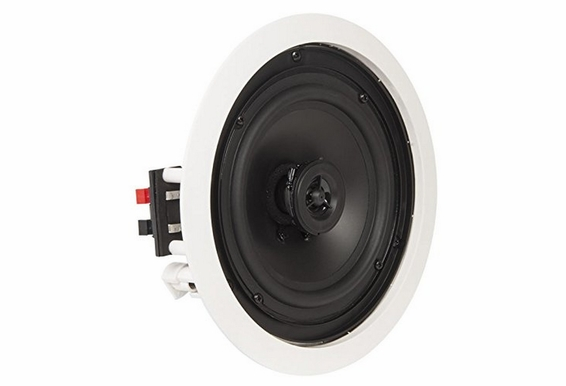 "OSD Audio ICE610 6.5"" In-Ceiling Speakers 125W w/ Pivoting Tweeter - 5 Pack"