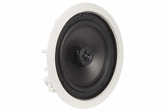 "OSD Audio ICE800 8"" In-Ceiling Speakers 140W w/ Pivoting Tweeter - 5 Pack"