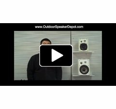 OSD Audio Patio Speaker Big Bass with SoundPort