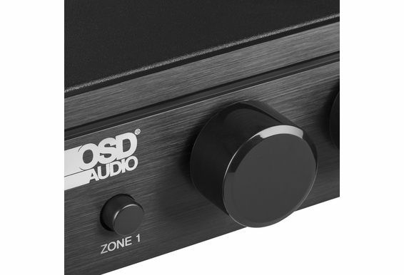 OSD Audio SSVC2V70 Mono 70V Speaker Selector with Built in 2x 100W 70V Mono Volume Control and Straight Pass Thru Output