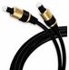 OSD Gold Series TosLink Digital Optical Audio Cable 3ft