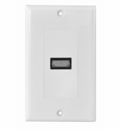 OSD-HDMI-1-PORT Single Port HDMI Decora Wall Plate